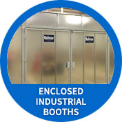 Enclosed Industrial Booths