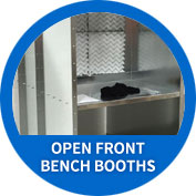 Open Front Bench Booths