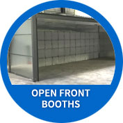 Open Front Booths
