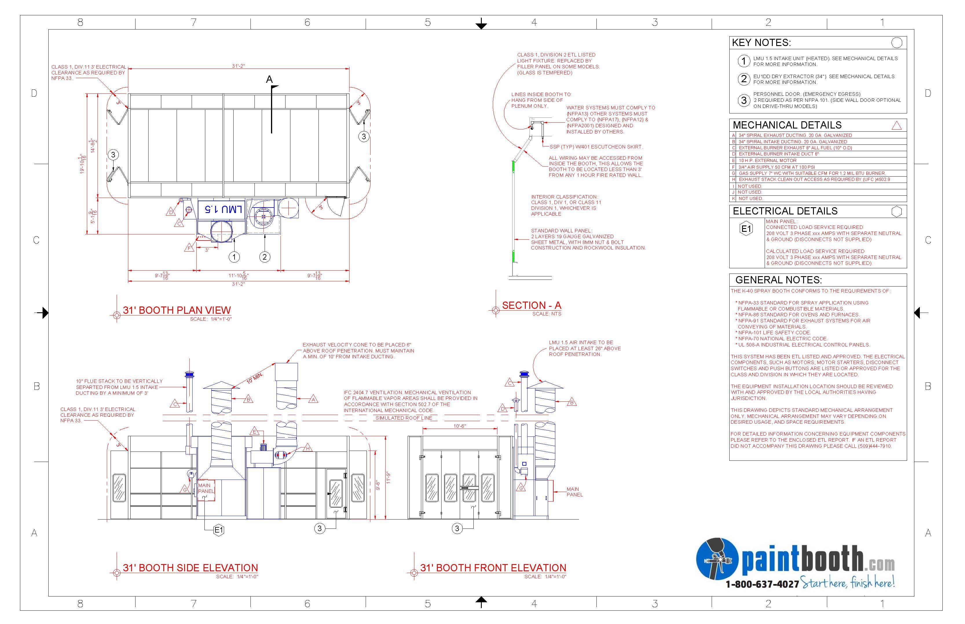 Spray Booth Wiring Diagram - Wiring Diagram Information on