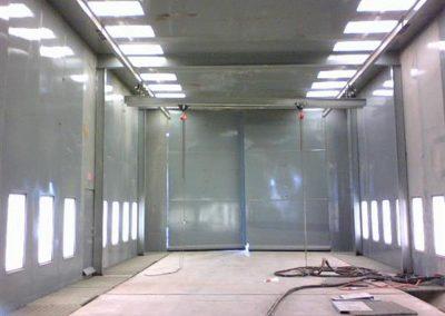 Blast Booth Inside 3