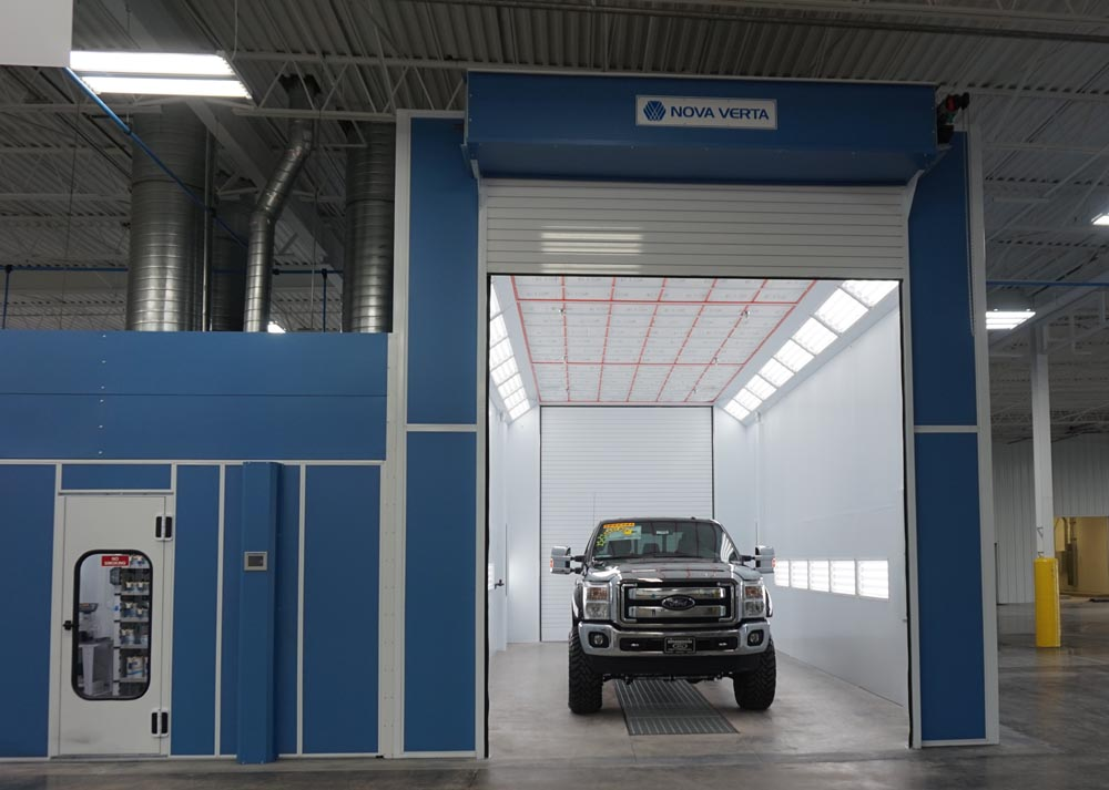 Truck Paint Booths Paintbooth Com