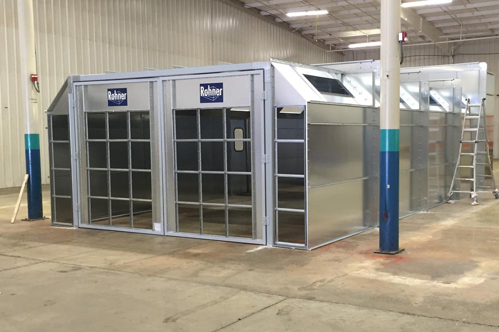 Industrial Painting Booths : Industrial paint booths paintbooth