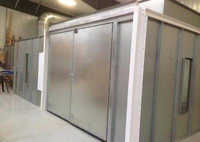 Custom Enclosed Booth