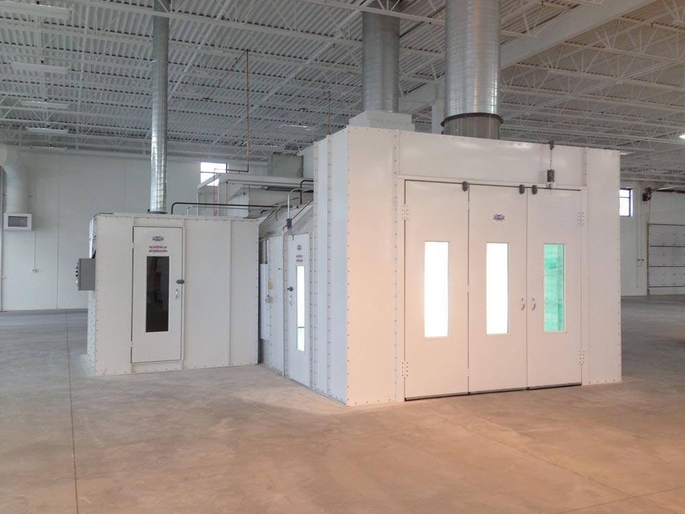 Automotive Paint Booths Designed  U0026 Installed For Your Shop
