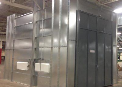 Custom Industrial Booth
