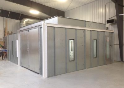 Custom Side Load Booth