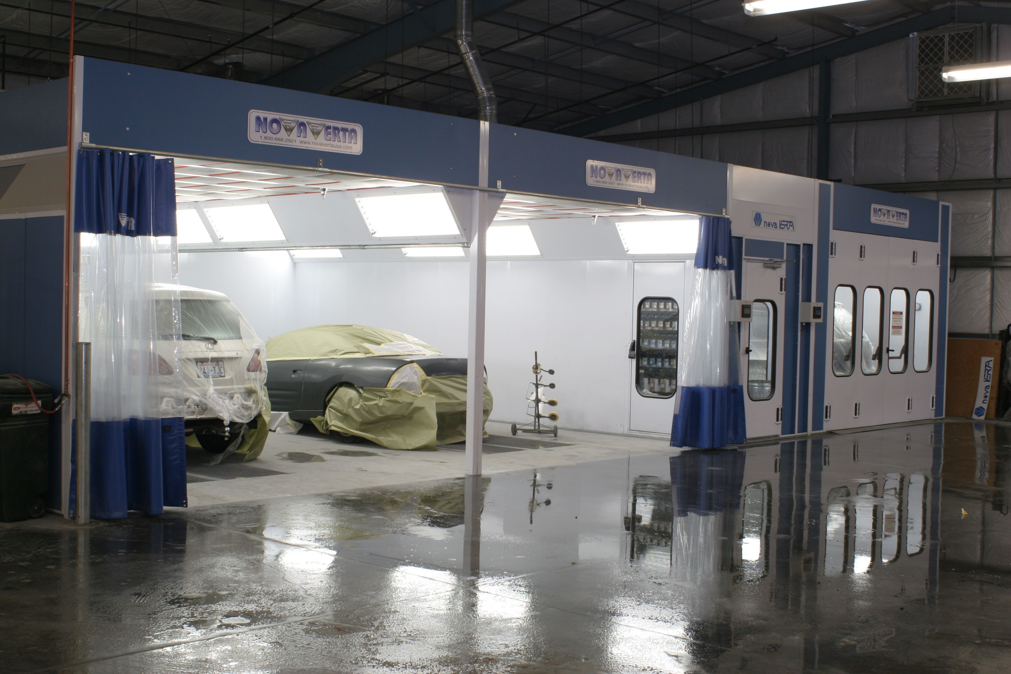 Prestige Series Automotive Paint Booth