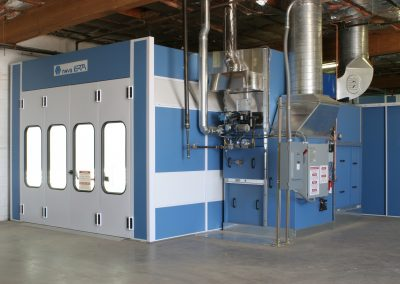 Full Down Draft Paint Booth