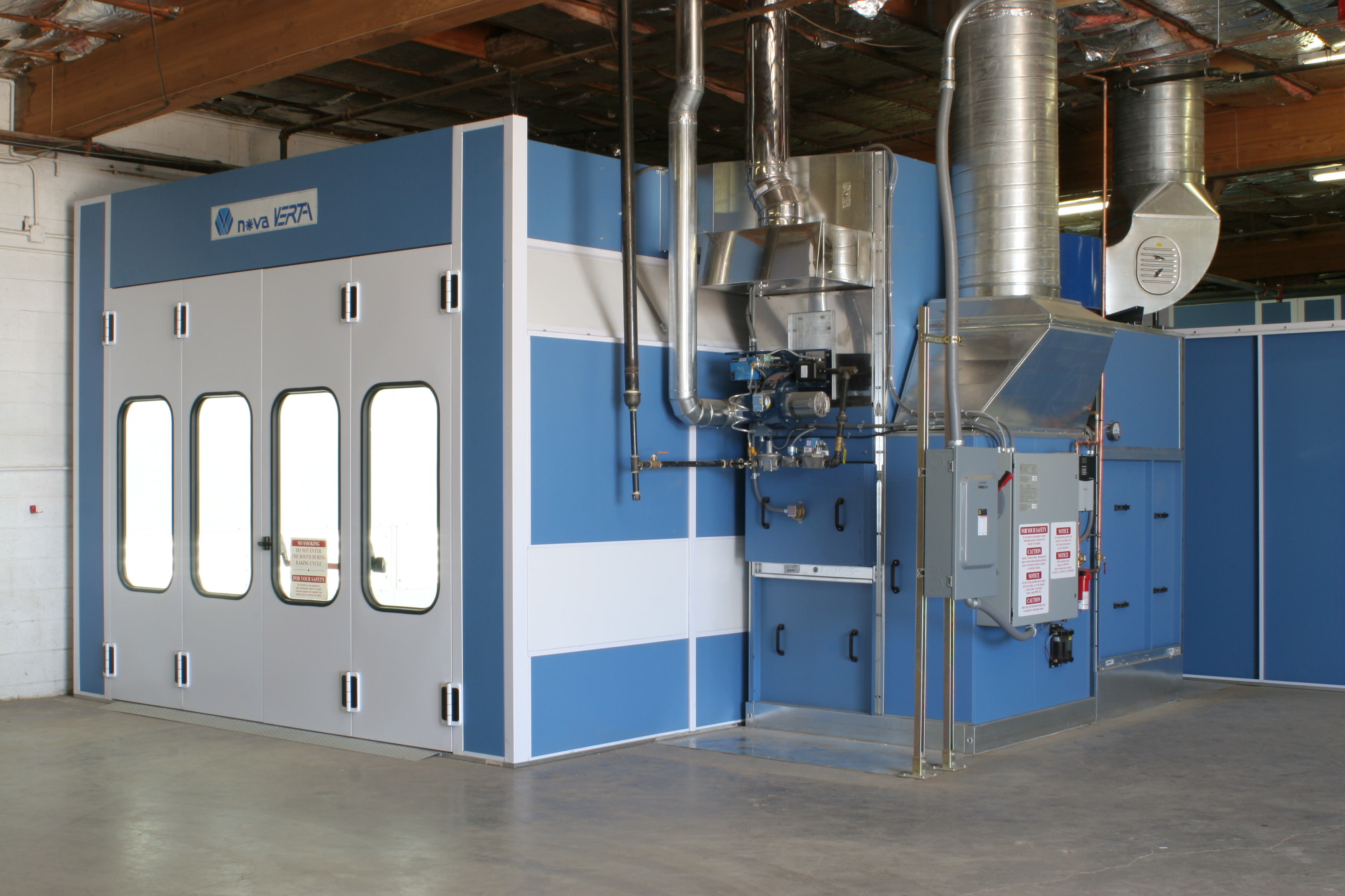 Automotive Paint Booths Designed & Installed For Your Shop ...