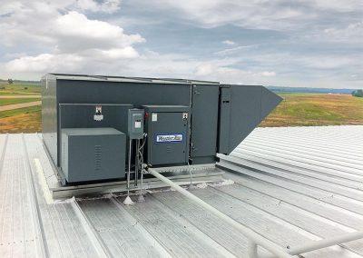 Horizontal Air Make Unit