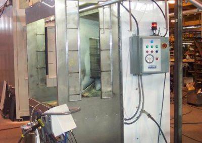 Lab Powder Booth