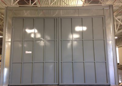 Large Booth Doors