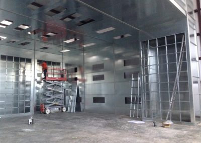 Large Industrial Booth