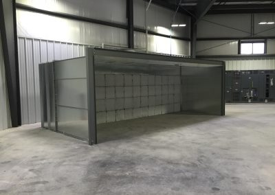 Large Open Face Booth