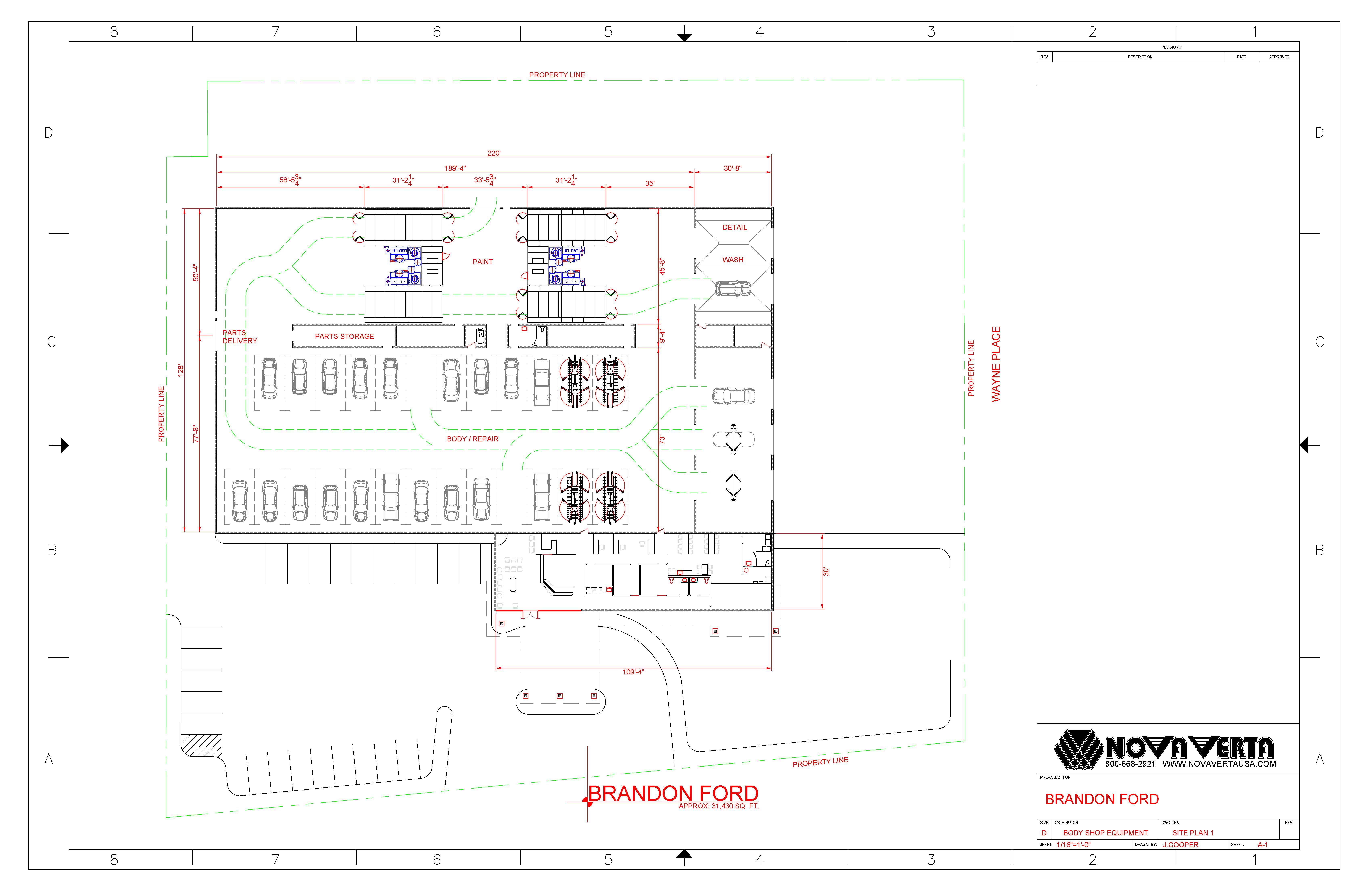 Auto body shop blueprints bing images for Shop blueprints