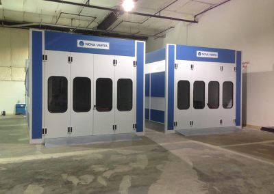 Nova Verta Paint Booth