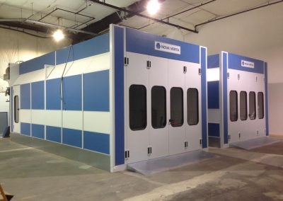 Nova Verta Paint Booth-Basement