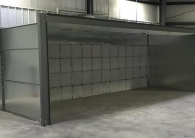 Open Face Booth