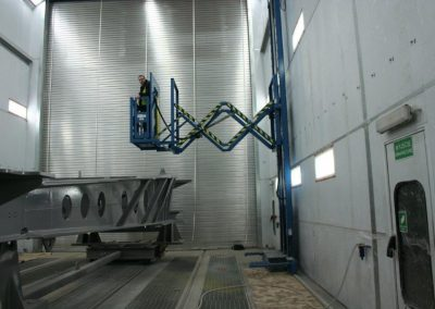 Overall View of Extended Personnel Lift