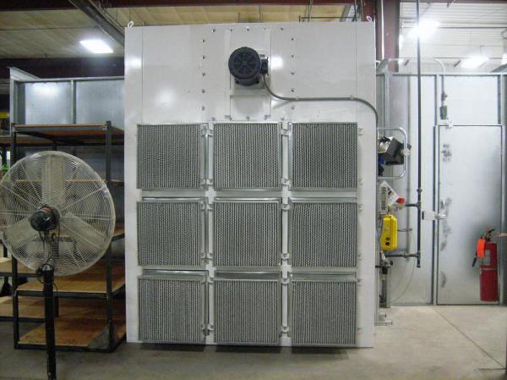 Powder coating booths for Powder coating paint booth