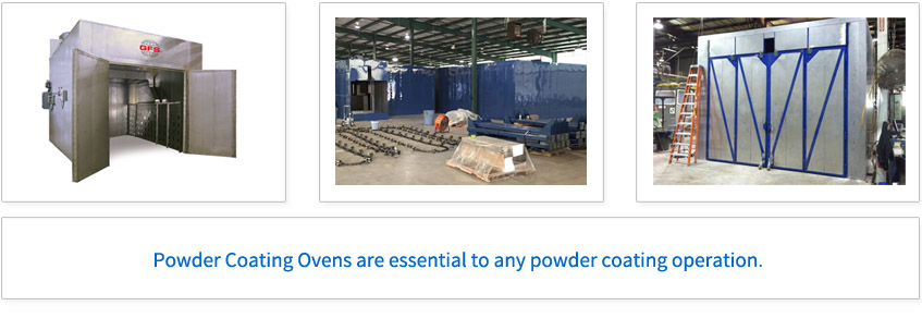 Powder Coating Ovens are essential to any powder coating operation.