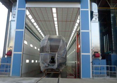 Rail Car Booth