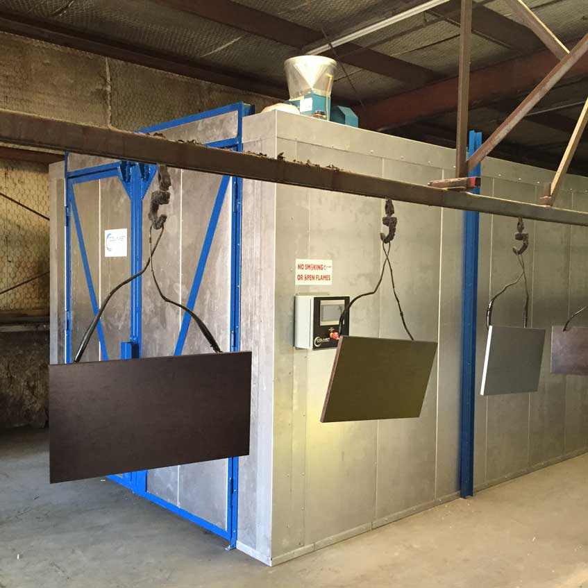 Rooms: Paint Booth Industrial Design Sales Installation Service