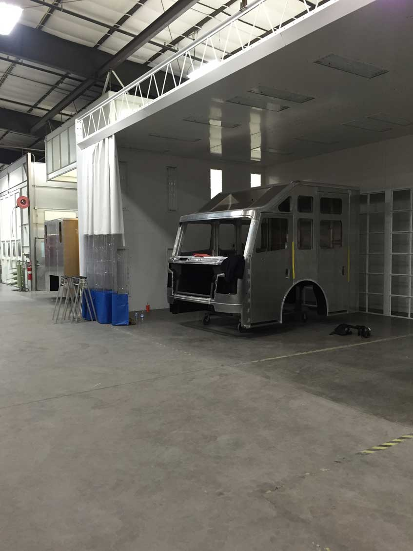 Paint Booth Industrial Spray Booths Installation