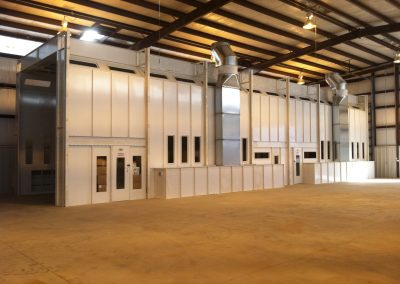 Side Down Draft Large Equipment Paint Booth