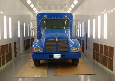 Truck Booth Inside