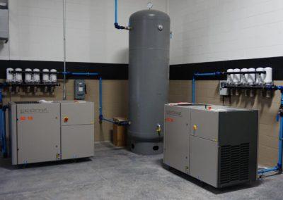 Twin Compressor Install