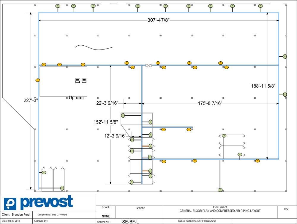 Prevost Air Diagram 1