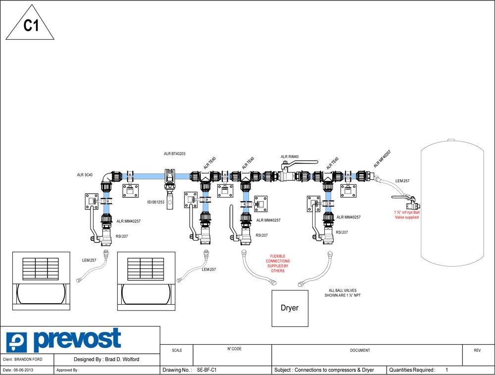 Prevost Air Diagram 2