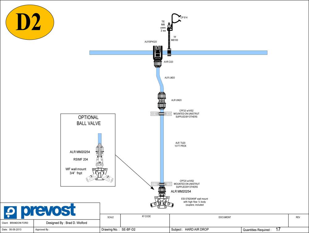 Prevost Air Diagram 4