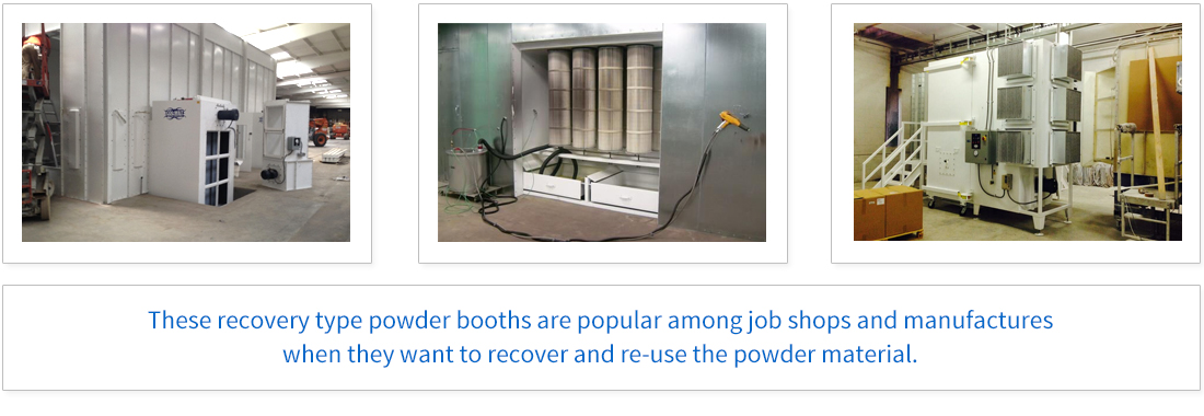 Reclaim Powder Booth