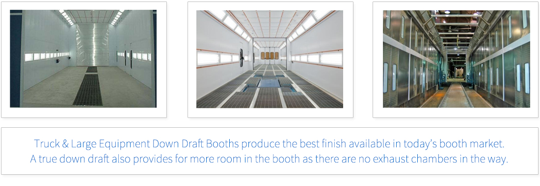 Full Down Draft Truck Booth