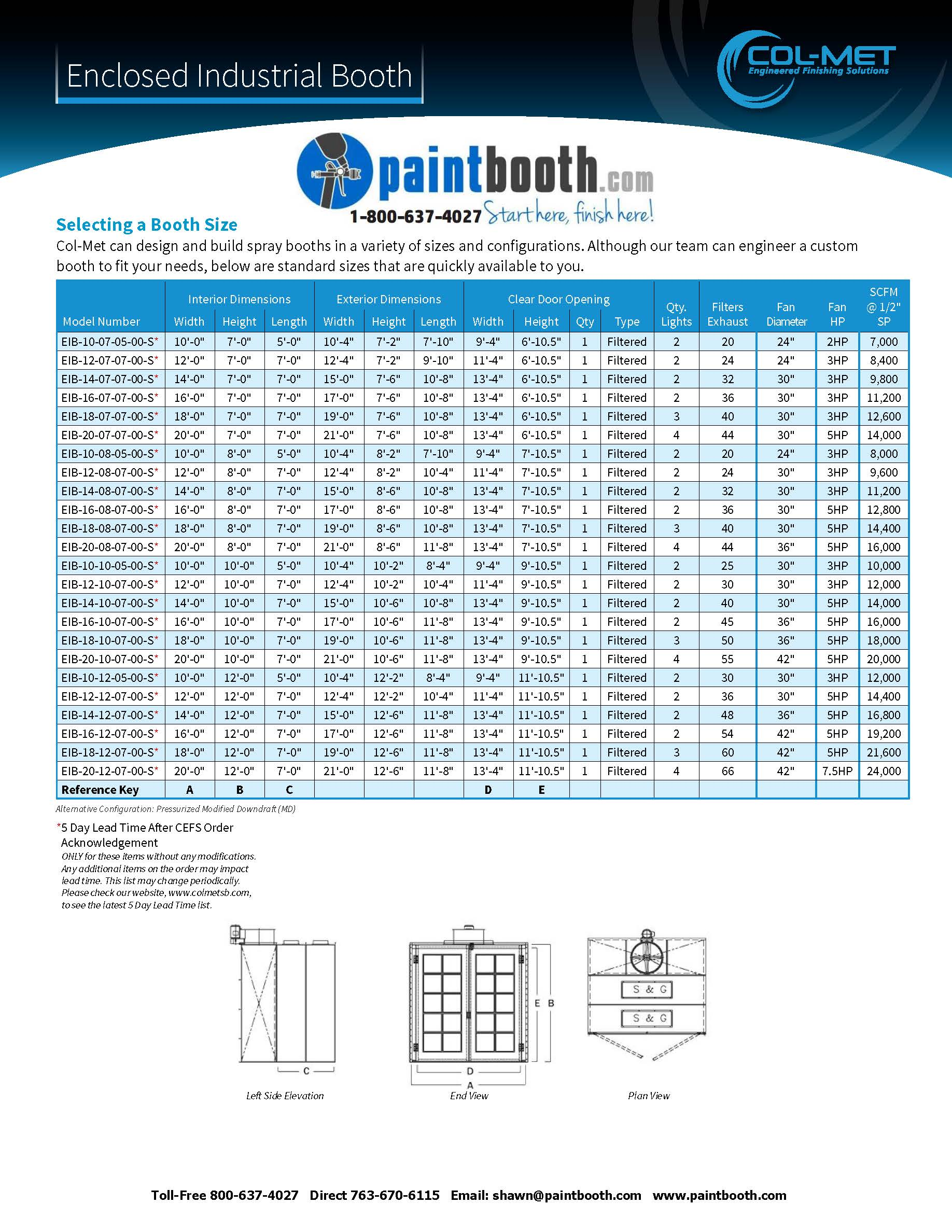 the enclosed industrial paint booth is highly versatile paintbooth com